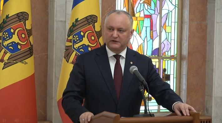 """Igor Dodon: """"Putem în fiecare zi să schimbăm miniștrii, dar situația nu se schimbă."""" Subiectele discutate la prima ședință a Consiliul Suprem de Securitate"""