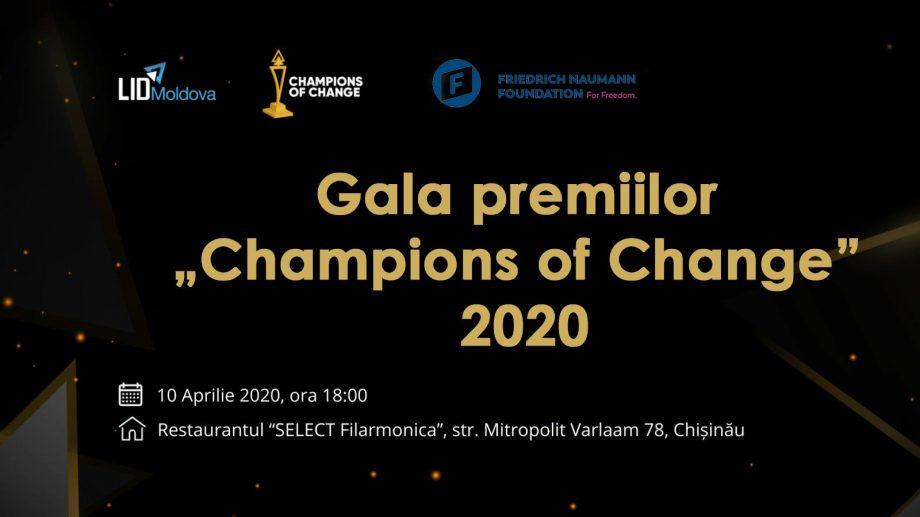"""Cum poți obține trofeul """"Champion of Change"""" și suport financiar pentru realizarea proiectelor noi"""