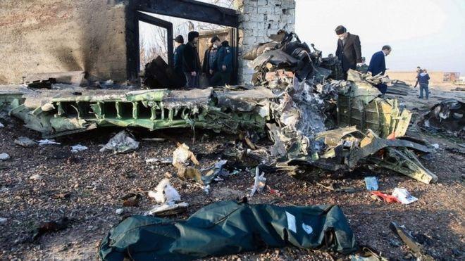 Ucraina va primi cutiile negre ale avionului prăbușit pe 8 ianuarie, la scurt timp după ce decolase de la Teheran