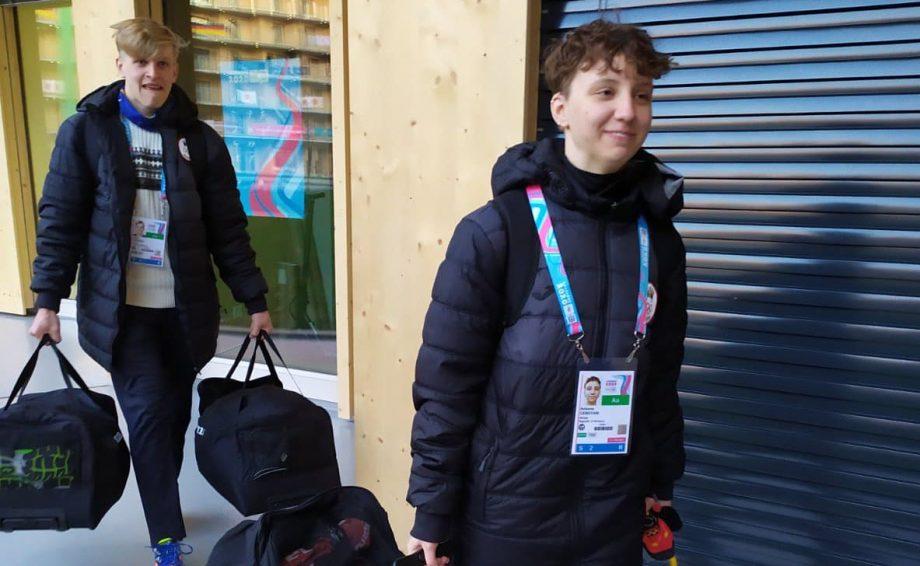Biatloniștii moldoveni au debutat la Jocurile Olimpice de Tineret de iarnă de la Lausanne
