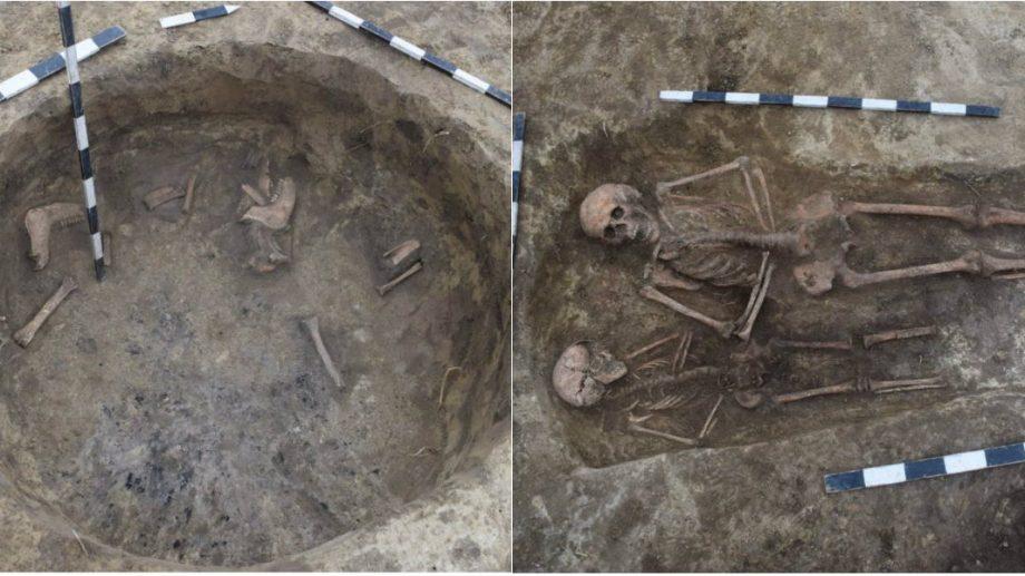 În raionul Cantemir s-au descoperit morminte de inhumație din Evul Mediu