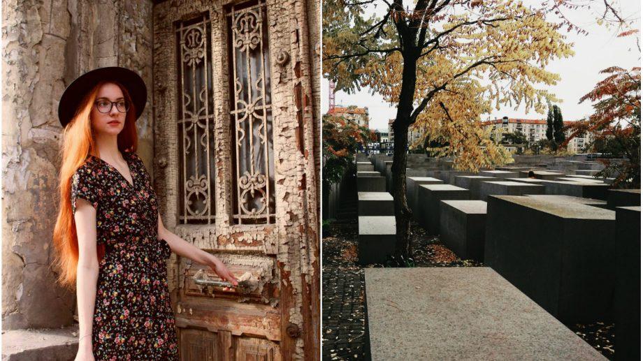 """(foto) """"Am o tradiție."""" De ce Elena Baranov vizitează cel puțin un cimitir în orașele în care călătorește și câte are în colecție"""