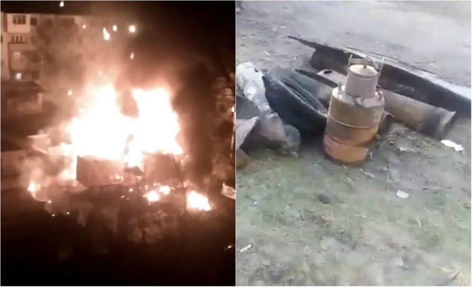 (video) Explozie de proporție la Buiucani. Pompierii au localizat focul în aproximativ două ore
