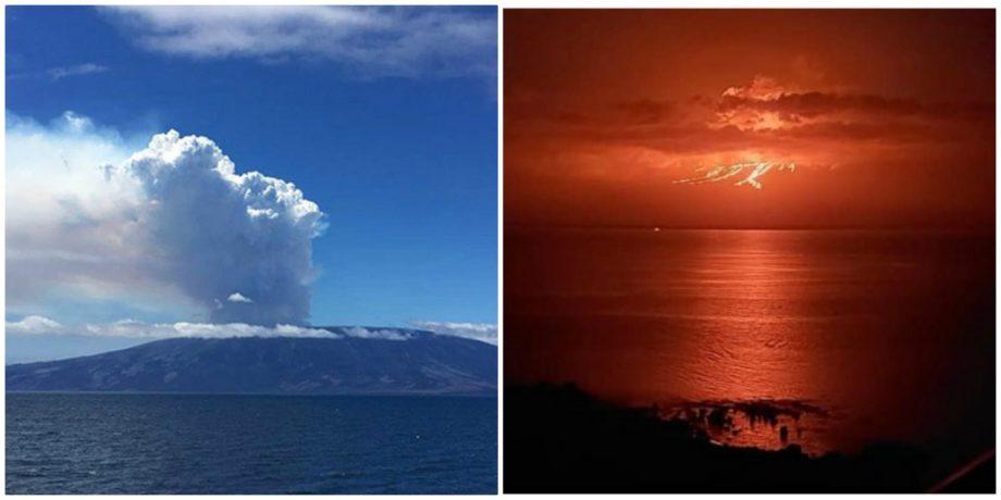(foto) Vulcanul La Cumbre din insulele Galapagos a intrat în erupție