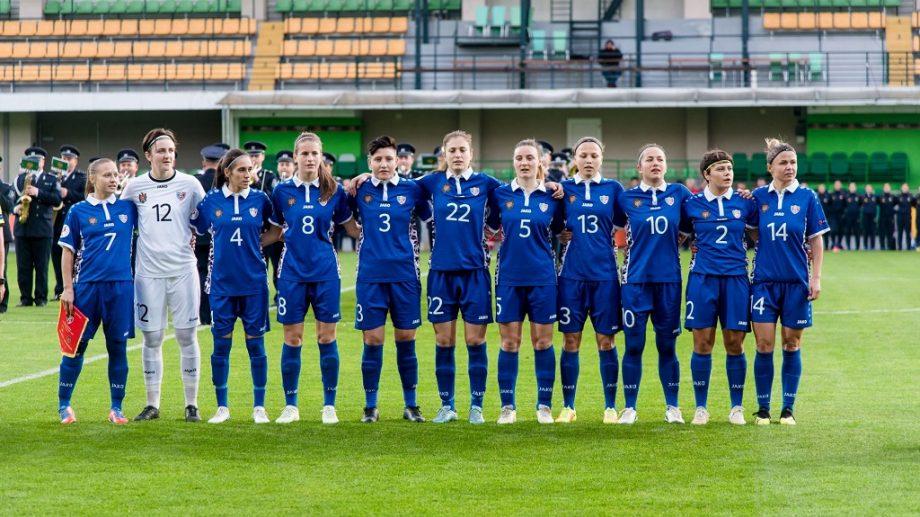Naționala de fotbal feminin a Moldovei va disputa meciuri cu selecționata similară a Angliei și echipe din Italiei la un turneu internațional de fotbal