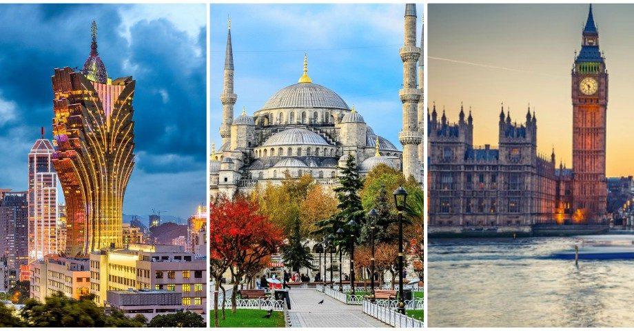 (foto) Top 20 cele mai vizitate orașe din lume în anul 2019