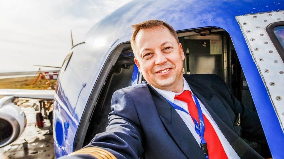 (foto) Mihai Botnari, din culisele meseriei de pilot și de ce nu trebuie să te temi de turbulențe atunci când zbori
