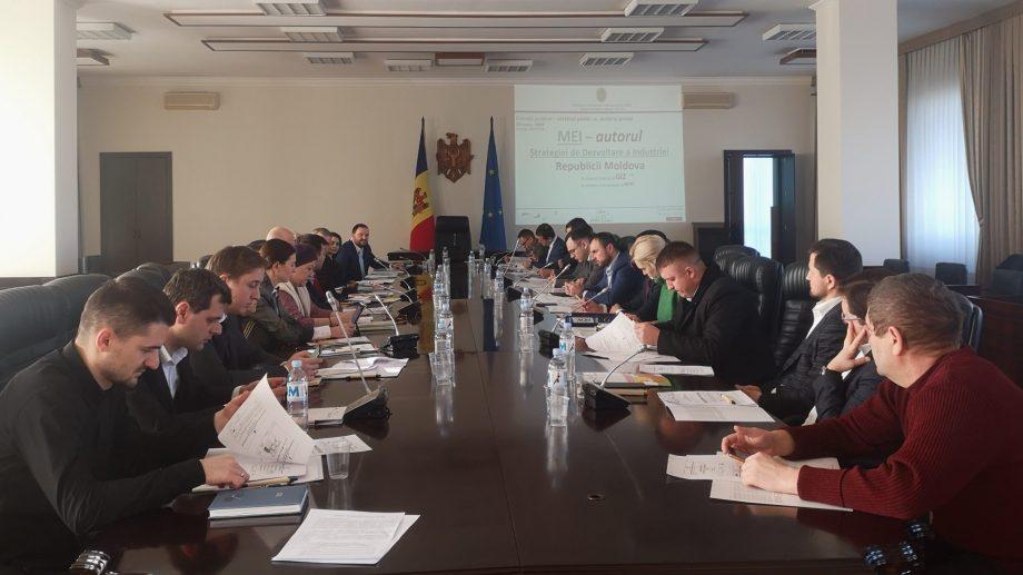 """Marin Ciobanu: """"Dezvoltarea economiei naționale prin industrializare este o prioritate pentru țara noastră"""""""