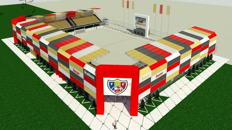 (foto) Un teren pentru fotbal pe plajă ar putea fi construit în Chișinău. Cum va arăta acesta
