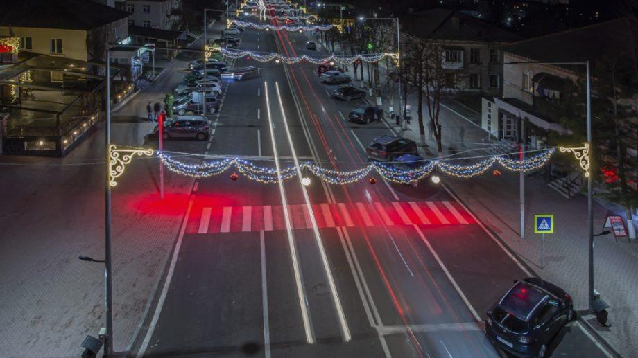 Orhei este singurul oraș din Moldova unde trecerile pentru pietoni sunt iluminate cu reflectoare roșii intermitente