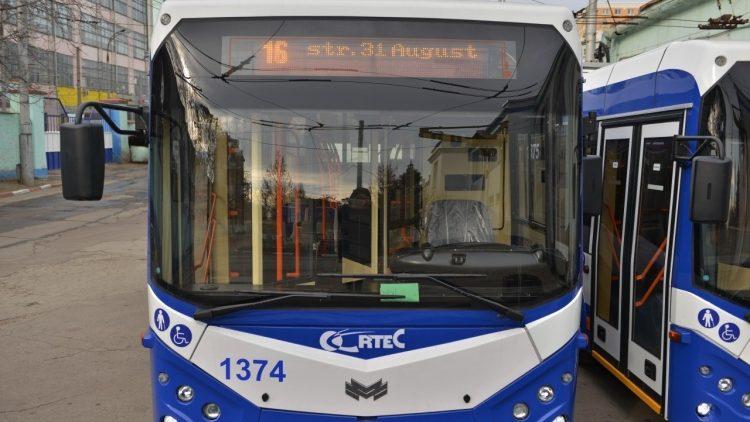 Ruta de troleibuz numărul 16 se redeschide. Care este noul itinerar