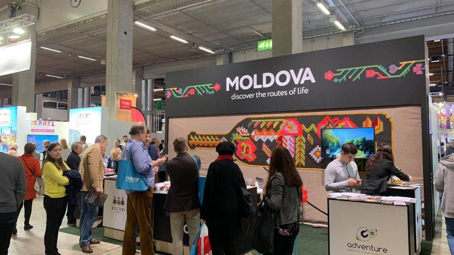 (foto) Comunicare digitală, proiecții video și tururi virtuale 360°. Turismul din Moldova a fost prezentat la MATKA 2020