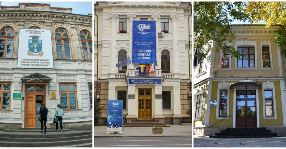 Topul celor mai bune universități din Moldova, ediția iarnă 2020