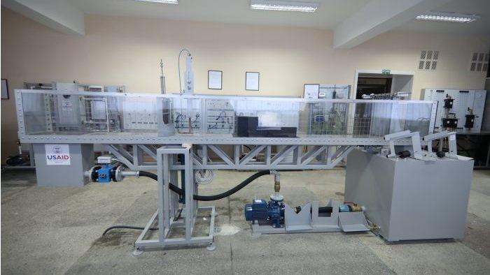 (foto) La Universitatea Agrară a fost redeschis laboratorul de hidroamelioraţii. Acesta a costat circa 2,5 milioane de lei