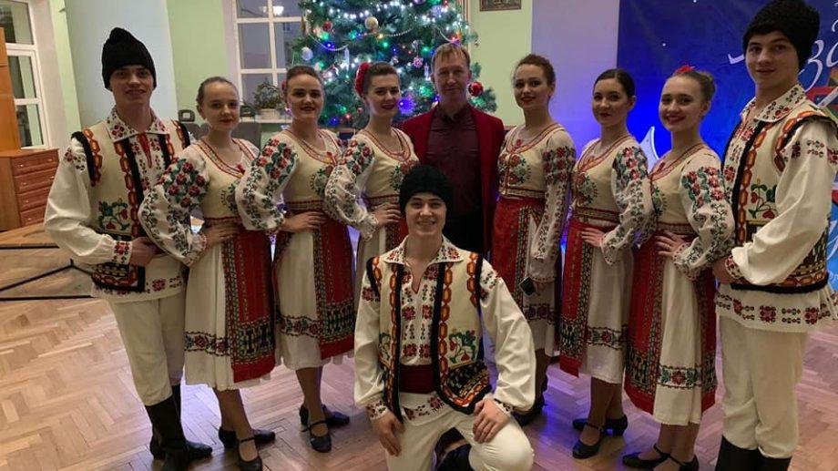 (foto) Studenții de la Universitatea Pedagogică au luat premiul mare la un concurs de dansuri din Ucraina