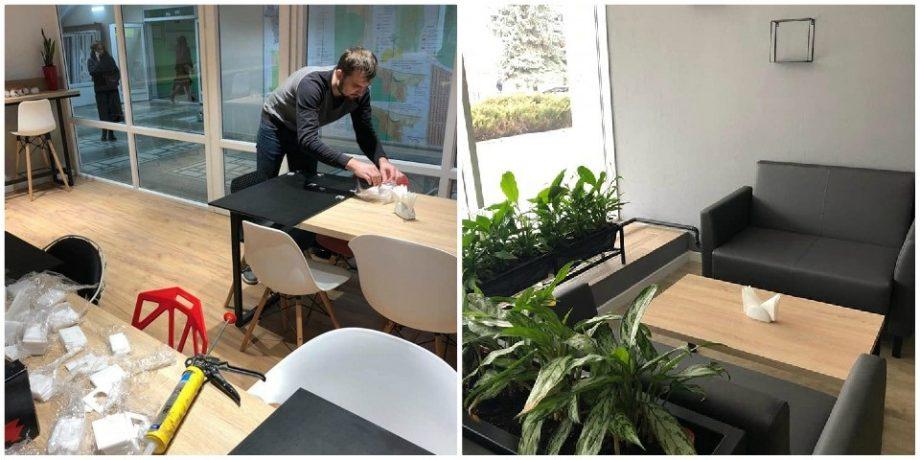 (foto) Începând cu 20 ianuarie, studenții de la UTM se vor putea bucura de spații de alimentație renovate