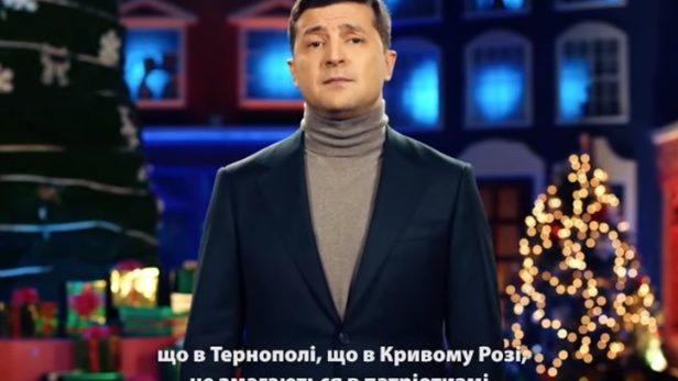(video) Prima felicitare în calitate de președinte. Zelenski a adresat un mesaj emoționant cetățenilor ucraineni