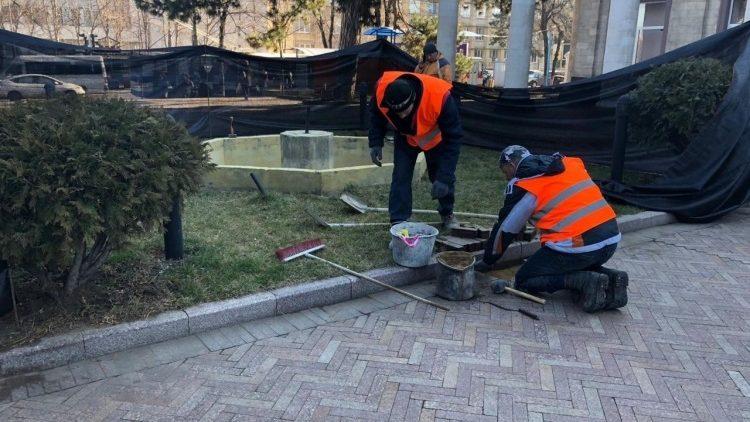 """(foto) O fântână arteziană va fi amenajată la intrarea în parcul """"Valea Morilor"""". Cum va arăta aceasta și cât costă lucrările"""
