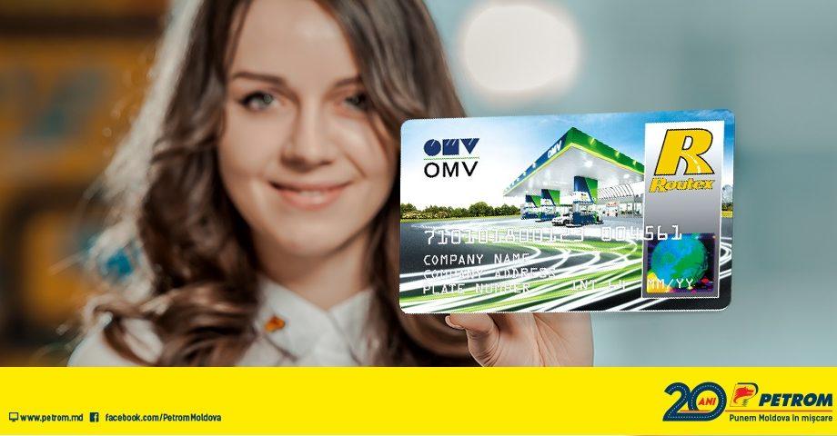 Cardul OMV, acum acceptat și în stațiile Petrom Moldova