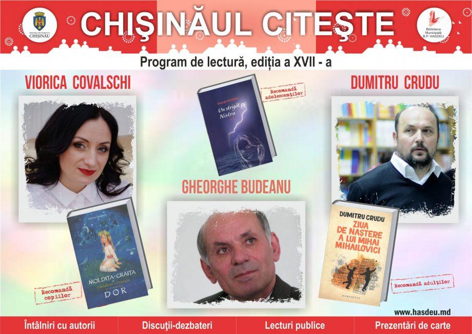 """De Ziua Internațională a Cititului Împreună, Biblioteca Municipală """"B.P. Hasdeu"""" lansează încă o ediție a programului """"Chişinăul citeşte"""""""