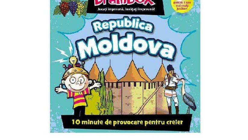 La Chișinău se lansează un nou joc de societate despre Moldova. Cum poți câștiga un set