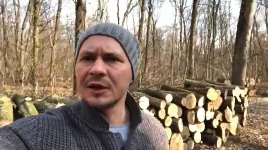 """(video) Ruslan Codreanu către Chicu: """"Știu că vă pasă și nu veți rămâne indiferent față de crimele făcute cu pădurile noastre"""""""