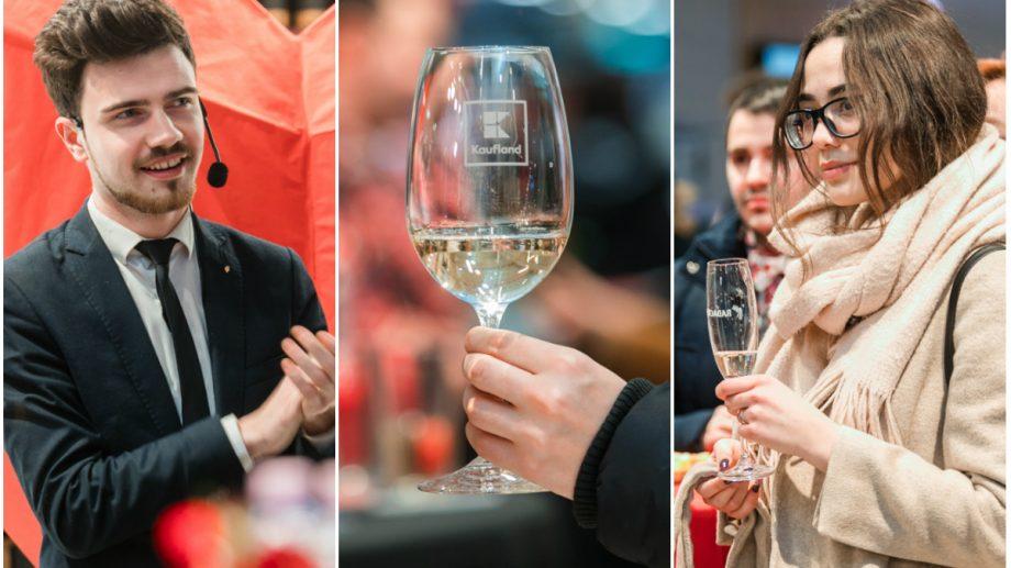 """(foto) Dragostea asociată cu cinci vinuri autohtone. Campania """"Vin la Kaufland"""" continuă cu o nouă ediție"""
