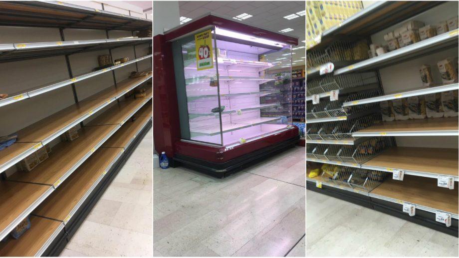 (foto) O tânără moldoveancă din Milano ne-a arătat cum sunt magazinele în Italia după depistarea mai multor cazuri de coronavirus