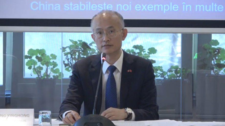 """(video) """"Virusul nu are naționalitate."""" Ambasada Chinei în Moldova a prezentat informații despre situația actuală a epidemiei COVID-19"""