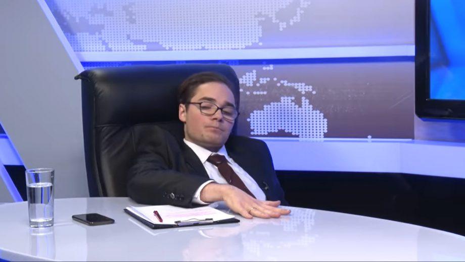 """(video) ZeroDoi a parodiat emisiunea """"Puterea a Patra"""" cu Gheorghe Gonța și Maia Sandu. """"Stați să-mi iau poziția pentru a doua întrebare"""""""