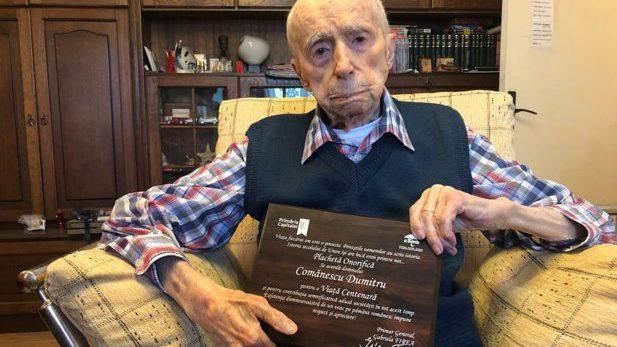 Un român este al treilea cel mai longeviv bărbat în viaţă. Are 111 ani