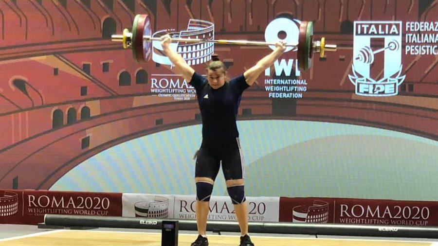Halterofila Elena Cîlcic a cucerit două medalii la Cupa Mondială de la Roma