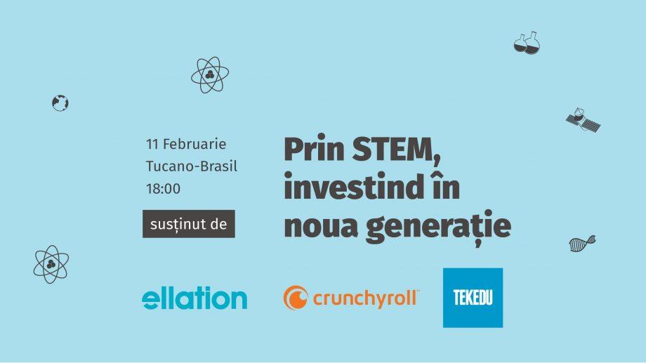 """""""Prin STEM, investind în noua generație"""". GirlsGoIT organizează un eveniment dedicat tinerilor pasionați de domeniul IT"""