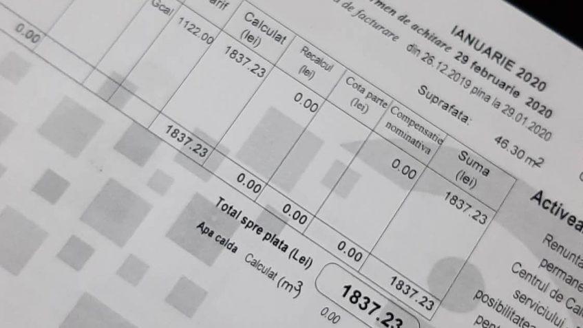 PAS solicită audierea ministrului economiei cu privire la sumele exagerate la căldură pentru luna ianuarie