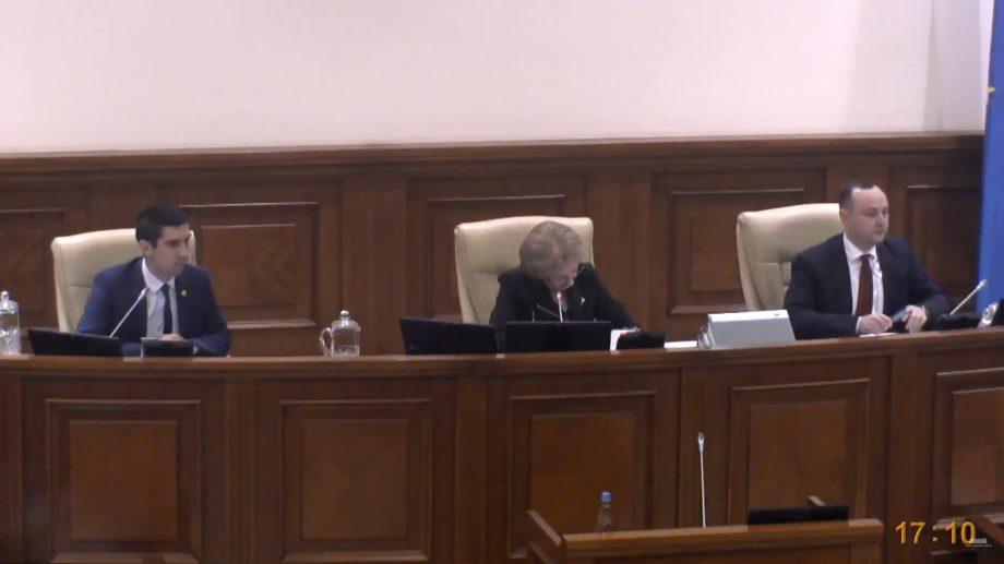 """Discuții aprinse între Mihai Popșoi și Zinaida Greceanîi. """"Dați-mi dreptul la replică!"""", """"Nu vă dau"""""""