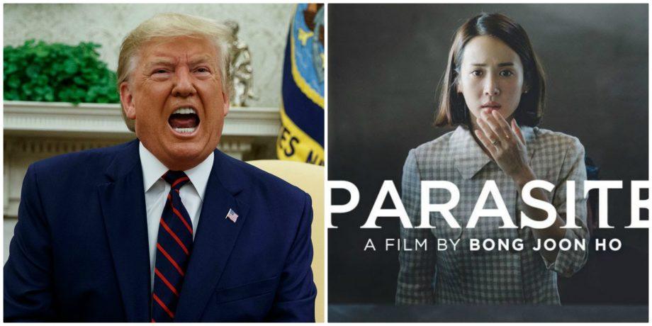 """(video) Donald Trump a ironizat filmul sud-coreean """"Parazit"""", care a cucerit Oscarul 2020"""