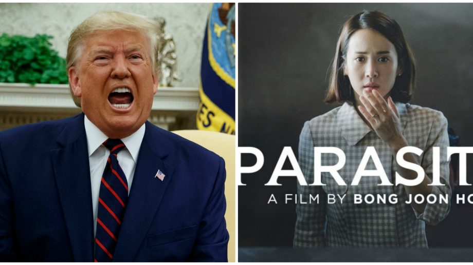 "(video) Donald Trump a ironizat filmul sud-coreean ""Parazit"", care a cucerit Oscarul 2020"