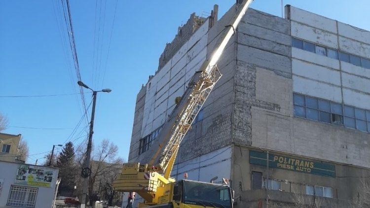 (foto) Strada Podul Înalt din sectorul Ciocana va fi deblocată pentru circulație