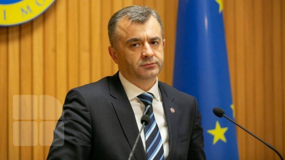 Pagina oficială de Facebook a prim-ministrului Ion Chicu nu mai există
