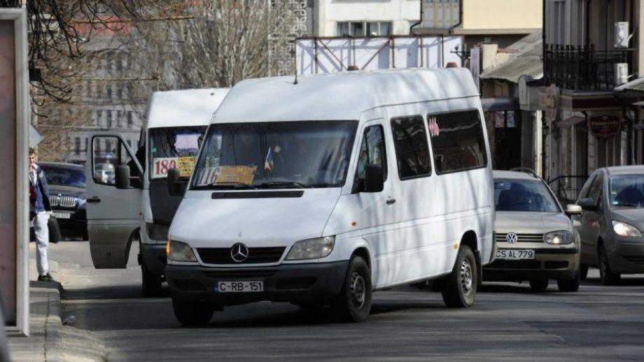 Protestul șoferilor din Chișinău. Microbuzele nu vor circula luni, până la ora 10 dimineața