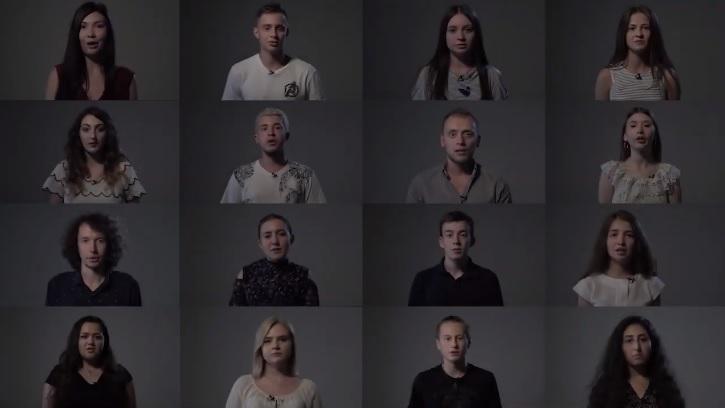 """(video) Cum sună poezia """"Limba noastră"""" de Alexei Mateevici în limbile etniilor din Republica Moldova"""