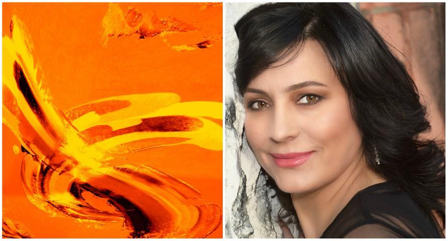 (foto) Moldoveanca Raisa Ambros va afișa lucrările sale la două expoziții de artă, la Veneția și Los Angeles