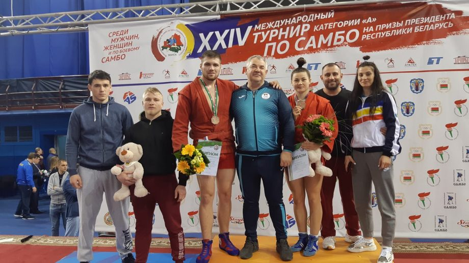 Sportivii moldoveni au cucerit trei medalii de bronz la turneul internațional de sambo