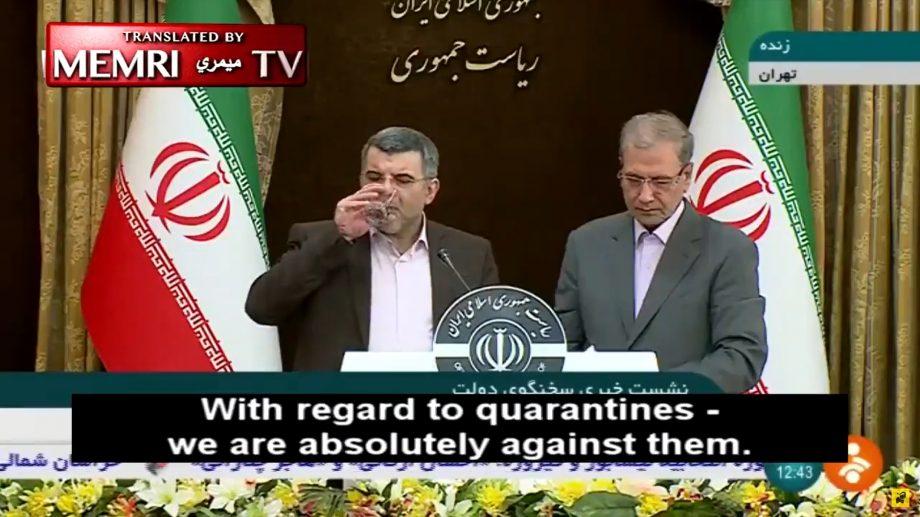 """(video) Adjunctul ministrului sănătății iranian a fost infectat cu coronavirus. """"Virusul nu face diferența dintre om de stat și om simplu"""""""