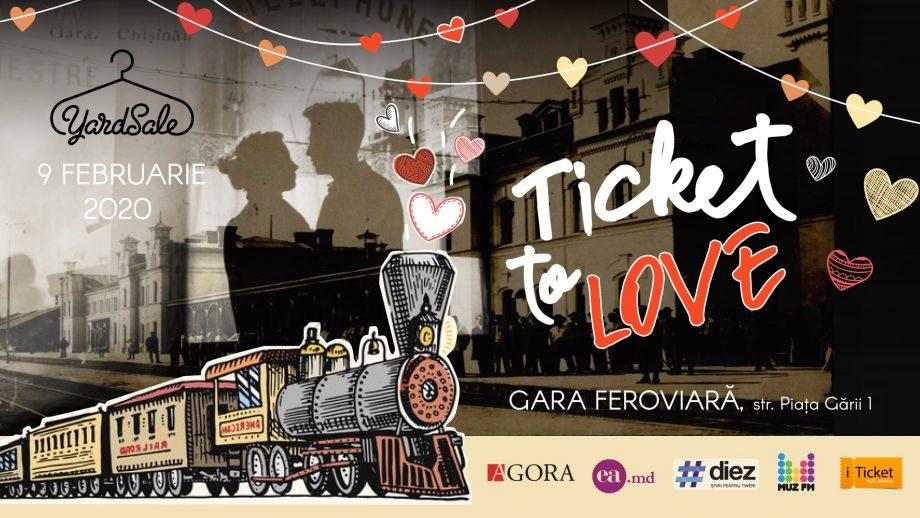 Pe 9 februarie, de pe peronul gării feroviare pornește locomotiva iubirii. Iată 15 motive pentru a merge la YARDSALE!