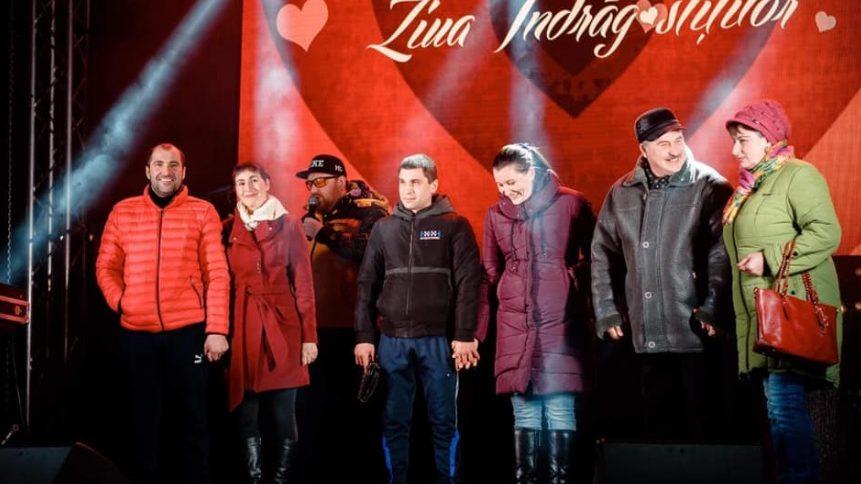Sărbători fastuoase de Ziua Îndrăgostiților, organizate la inițiativa lui Ilan Șor la Orhei și Taraclia