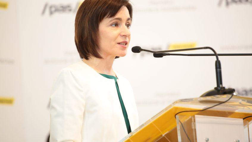 Maia Sandu s-a adresat Comisie Europene pentru a ajuta moldovenii care nu pot ieși din UE din cauza epidemiei de coronavirus