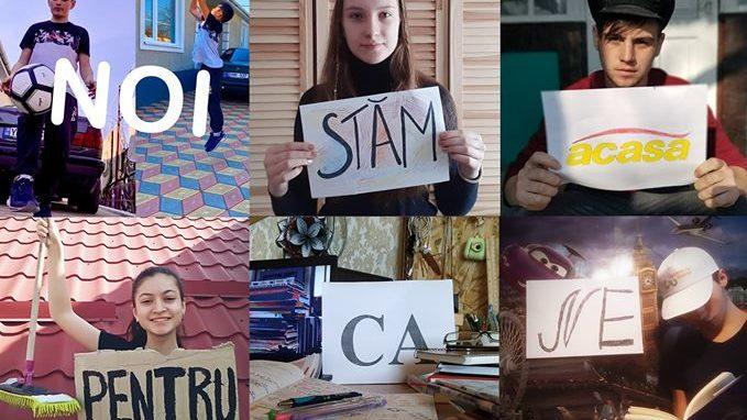 """Voluntarii din rețeaua celor 44 de Centre de tineret din Moldova îndeamnă oamenii să stea acasă. """"Fii regizorul propriei carantine"""""""