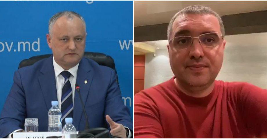 """Igor Dodon comentează criticile aduse de oponenți: """"Cei care stați în carantină, nu aveți cu ce vă ocupa?"""""""