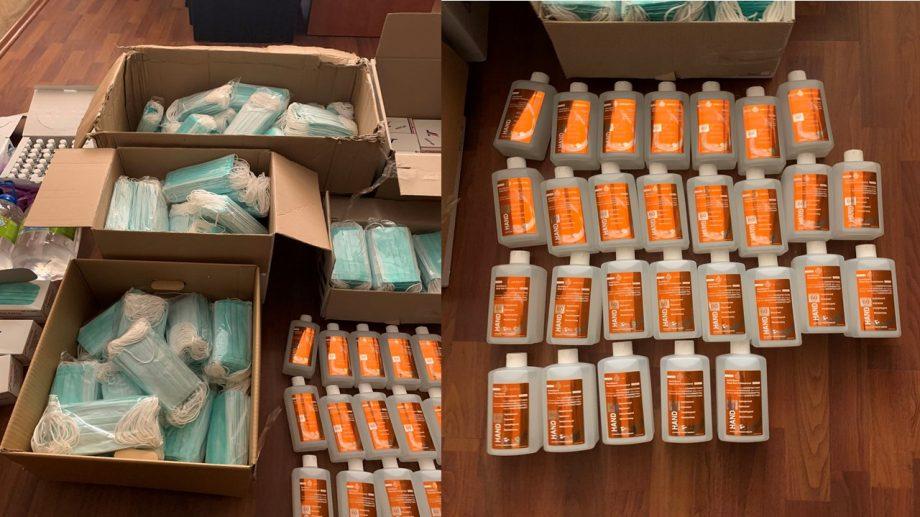 (video) Comerț ilegal cu dezinfectanți, mănuși și măști medicinale în timpul epidemiei